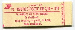 RC 11742 FRANCE CARNET 2319-C1 LIBERTÉ 10 TIMBRES A 2,10f MNH NEUF ** - Carnets