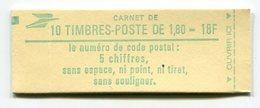 RC 11743 FRANCE CARNET 2375-C1 LIBERTÉ 10 TIMBRES A 1,80f MNH NEUF ** - Carnets