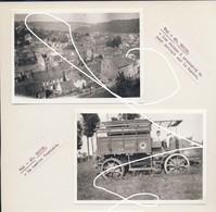 JL 1 Mai 40 Thuin Destructions Et Camion Armée Française. Repros - 1939-45