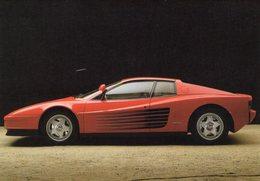 Ferrari Testarossa       -  CPM - Turismo