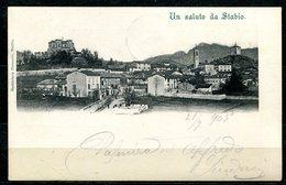 CARTOLINA CV2531 SVIZZERA SWITZERLAND 1905 Stabio Veduta Panoramica, FP, Viaggiata Per L'Italia, Ottime   Condizioni - TI Tessin