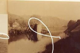 JL 1 1940 Yvoir Pont Détruit Et En Reconstruction 2e Guerre Repros. - 1939-45