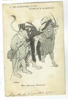 CPA Humour - Les Aventures D'une Tigresse à Marseille - Heureuse Rencontre - Illustration De Cassan - 1910 - Autres