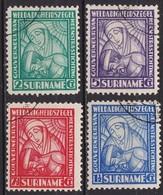SURINAME 1928 Van Heemstra-stichting Complete Serie NVPH 137 / 140 - Suriname ... - 1975