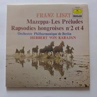 LP/  Herbert Von Karajan - Franz Liszt - Mazeppa. Les Préludes. Rapsodies Hongroises N°2 & 4 - Classique