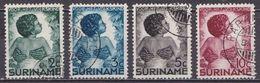 SURINAME 1936 Kinderzegels Complete Serie NVPH 179 / 182 - Suriname ... - 1975