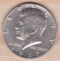 Etats-Unis. Half Dollar 1967. Kennedy. Argent - Federal Issues