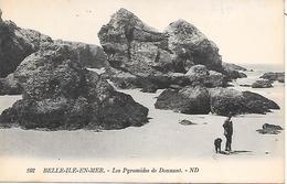 BELLE-ILE-EN-MER - ( 56 ) - Les Pyramides De Donnant - Belle Ile En Mer