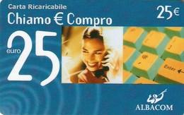 *ITALIA: ALBACOM - CHIAMO & COMPRO* - Scheda Usata - [2] Handy-, Prepaid- Und Aufladkarten