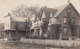 Real Photo RPP -1905-1910 (?) - House - Unknown Location - Possibly In Vermont VT - Unused  VG Condition - 2 Scans - Postcards