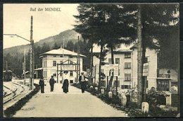 CARTOLINA CV2516 MENDEL PASS (Bolzano BZ) 1913 Bella Veduta Del Paese, FP, Viaggiata Per Lecco, Ottime Condizioni - Bolzano