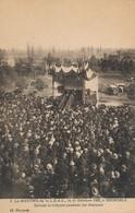I77 - 38 - GRENOBLE - Isère - Le Meeting De La L.D.A.C., Le 11octobre 1925 - Devant La Tribune Pendant Le Discours - Grenoble