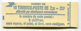 RC 11744 FRANCE CARNET 2376-C1 LIBERTÉ 10 TIMBRES A 2,20f MNH NEUF ** - Carnets
