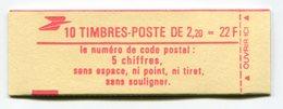 RC 11746 FRANCE CARNET 2376-C3 LIBERTÉ 10 TIMBRES A 2,20f MNH NEUF ** - Carnets