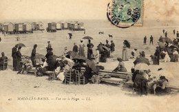 DPT 59 MALO LES BAINS Vue Sur La Plage - Malo Les Bains