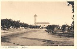 Gare Casablanca Chemin De Fer Maroc Railroad - Casablanca