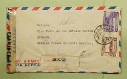 Peru Cover, World War 2 Censorship    (Red-3000-Special-7) - Peru