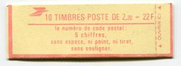 RC 11748 FRANCE CARNET 2376-C3 LIBERTÉ 10 TIMBRES A 2,20f MNH NEUF ** - Freimarke