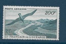 Timbres Neufs * établissements Français De L'océanie,.n°28 Yt, Poste Aérienne,  Paysage, Oiseaux - Océanie (Établissement De L') (1892-1958)
