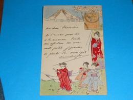 Illustrateurs ) Japon (  N° 6 ) : Année 1908 EDIT - - Illustrateurs & Photographes