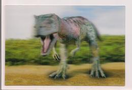 Carte 3D  Collection - Carte Lenticulaire -  Dinosaure - - Animaux & Faune