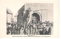39 - MOLAIN : INVENTAIRE ,EGLISE CAMBRIOLEE . - Sonstige Gemeinden