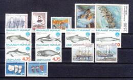 Groenlandia Nuovi:  1998  Annata Completa - Full Years