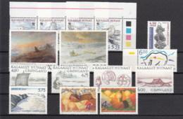Groenlandia Nuovi:  1999  Annata Completa - Full Years