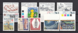 Groenlandia Nuovi:  2000  Annata Completa - Full Years