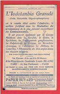 PAPIER BUVARD 1908 DES PAPETERIES DU MARAIS ET DE SAINTE MARIE 3 RUE DU PONT DE LODI A PARIS LIBRAIRIE HACHETTE - Papeterie