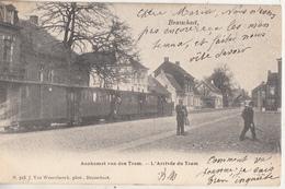Brasschaet - Aankomst Van Den Tram - Stoomtram - Geanimeerd - J. Van Wensebeeck, Phot. Brasschaat N. 715 - Brasschaat