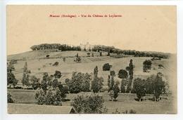 Manzac Sur Vern Vue Du Château De Leyzarnie - Other Municipalities