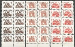 RUS 1992-266-8, Definitive , RUSSIA, 10 X 3v, Glanz Papir, MNH - 1992-.... Föderation