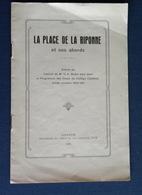 Lausanne) La Place De La Riponne Et Ses Abords - Histoire