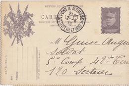 Carte-Lettre FM Général Joffre (déposé 217 Jouffroy) De Pont à Mousson  Le 2/6/16 Pour Secteur 120 - Kartenbriefe