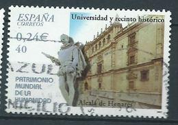 SPANIEN ESPAGNE SPAIN ESPAÑA 2001 FROM HUMAN HERITAGE M/S: ALCALÁ OF HENARES UNIVERSITY ED 3854 YV 3409  MI 3689 SC 3130 - 1931-Heute: 2. Rep. - ... Juan Carlos I