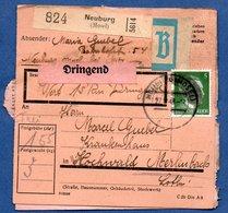 Colis Postal -  Départ Neuburg  - 28/12/1943 - Allemagne