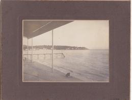 83 / TOULON / TRES BELLE PHOTO DEBUT 20 EME/ LES SABLETTES / SOUS LE HALL DU CASINO / FORMAT PHOTO 16X11 - Toulon