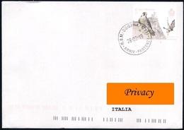 San Marino [Storia Postale] • Valore Del 2019 (Europa - National Birds / 1.10 €) Su Busta Per L'Italia - As Scan - Saint-Marin