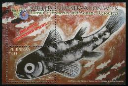 Pilipinas - Philippines (2013) - Block -  /  Marine Fauna - Fishes - Poissons - Fische - Endangered Species - Peces