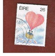 IRLANDA (IRELAND) -  SG 744   -  1990  GREETINGS STAMPS: LOVE -   USED - 1949-... Repubblica D'Irlanda