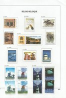 Belgie     .  Pagina Met Zegels    .    **    .   Postfris     .   /    .   Neuf SANS Charniere - Belgique