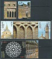 ESPAGNE SPANIEN SPAIN ESPAÑA 2002 FROM M/S ARAB MUDEJAR ARCHITECTURE SET 7V USED ED 3936-41 YT 3504-10 MI 3782-9 SC 3181 - 1931-Heute: 2. Rep. - ... Juan Carlos I