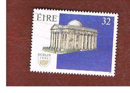 IRLANDA (IRELAND) -  SG 801   -  1991  DUBLIN '91, EUROPEAN CAPITAL OF CULTURE    -   USED - 1949-... Repubblica D'Irlanda