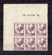 BLOC DE SIX N° 631(numéroté 05360)  NEUF** - 1944 Gallo E Marianna Di Algeri
