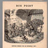 Bon Point : Surprise D'Amiens Par Les Espagnols 1597 (PPP17297) - Vieux Papiers