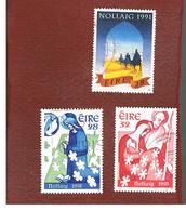 IRLANDA (IRELAND) - SG 827.829 - 1991 CHRISTMAS - USED - 1949-... Repubblica D'Irlanda