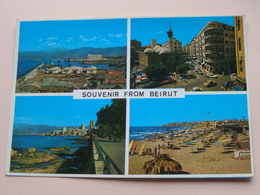 Souvenir From BEIRUT ( Telko-Sport Lebanon ) Anno 1997 ( Zie/voir Photo ) Beiroet ! - Liban