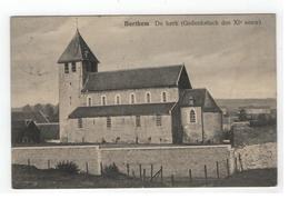 Berthem  De Kerk (Gedenkstuck Des XI Eeuw) - Bertem