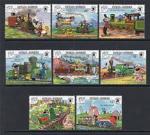 ANTIGUA & BARBUDA, 1989 New York World Stamp Expo'89 DISNEY 8v MNH - Exposiciones Filatélicas